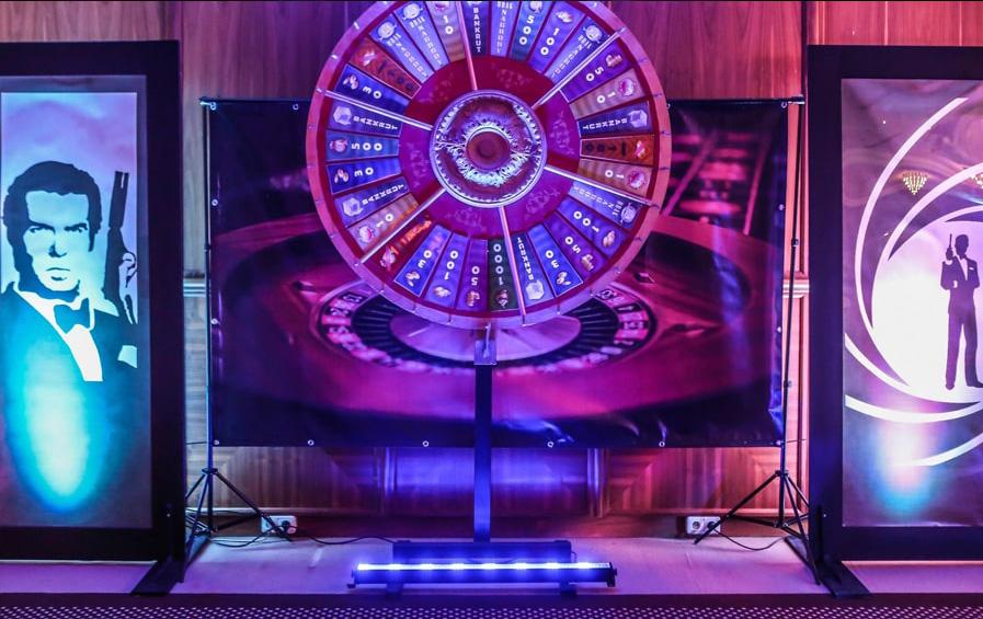 mobilne kasyno, koło fortuny, rekreacja