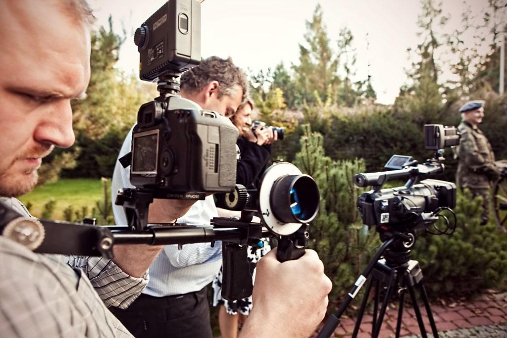 firmowe warsztaty filmowe, plan zdjęciowy