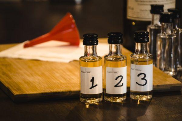 próbki degustacyjne wykwintnych alkoholi