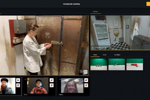 event online, escape room